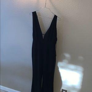 Astr black jumpsuit